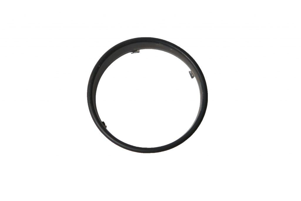 Kilometerteller ring, zwart